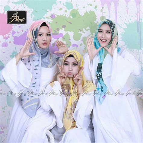 hijab arrafi segi empat terbaru tutorial hijab terbaru