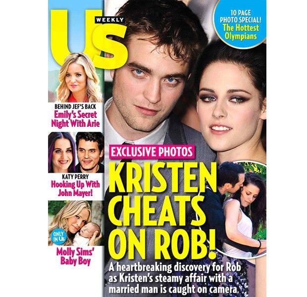 Us Weekly (July 2012), Robert Pattinson, Kristen Stewart