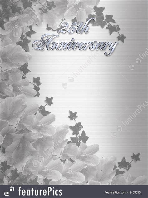 Cards And Posters: 25Th Wedding Anniversary Invitation