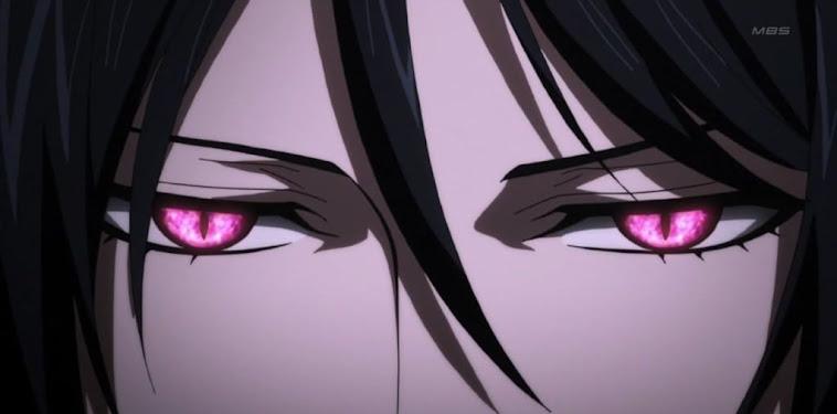 Kuroshitsuji Sebastian Eyes
