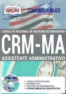 Apostila CRMMA ASSISTENTE ADMINISTRATIVO 2017.