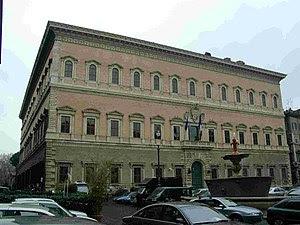 The Palazzo Farnese, Rome 1534 -1545 Designed ...
