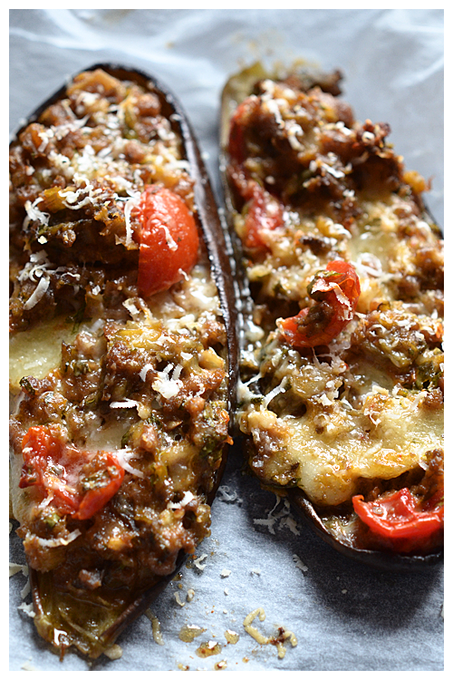 stuffed eggplants© by Haalo