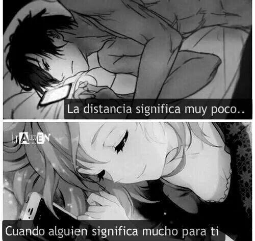 Amor A Distancia 3 Frases Y Recomendaciones Anime Amino