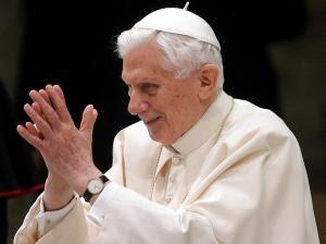 O Papa na audiência de hoje.
