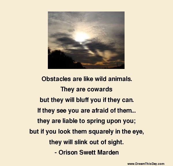 Obstacles Quotes To Inspire And Motivate
