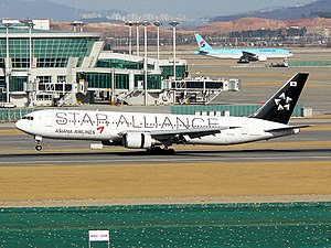 Asiana Airlines(OZ/AAR) Boeing 767-300 'Star A...