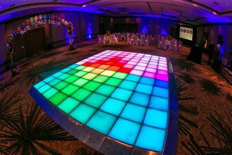 iDesign LED Dance Floor Debuts at Austin Mitzvah