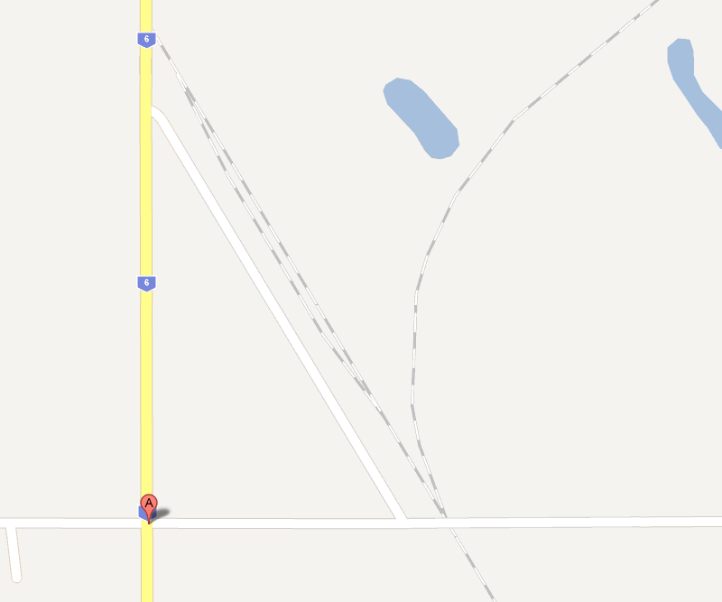 Map of Rowatt Saskatchewan