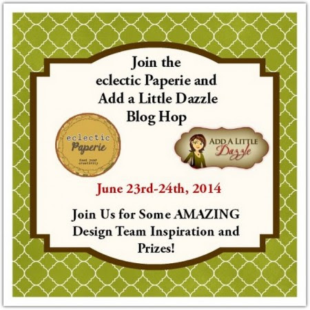 ECLECTIC PAPERIE AALD BLOG HOP BUTTON