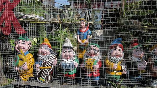 Snow White and friends, Tai O, Lantau Island, Hong Kong