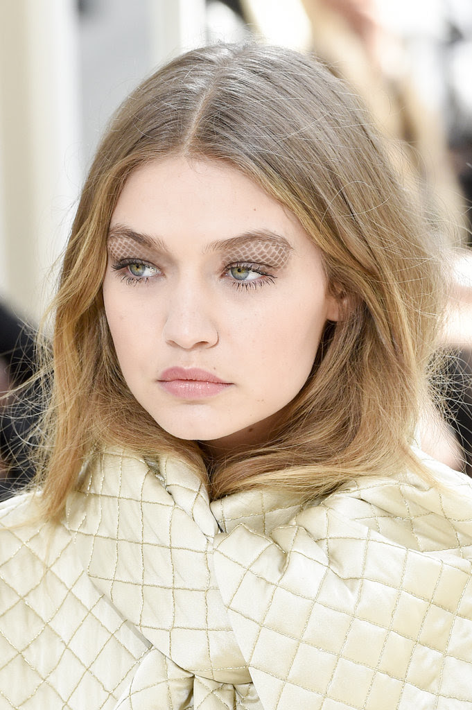 Chanel Brings Its Iconic Quilted Fabric to Eyelid Art on the Runway