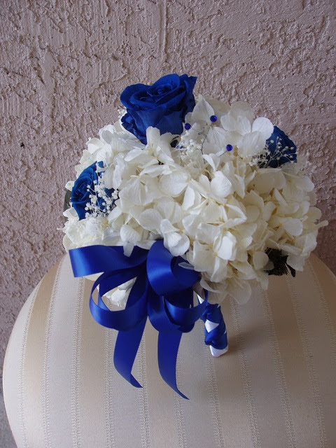 Royal Blue And Silver Wedding Centerpieces Awesome Beautiful Green