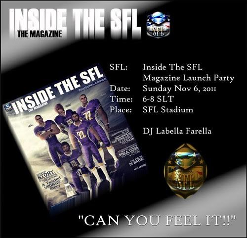 SFL Magazine Party