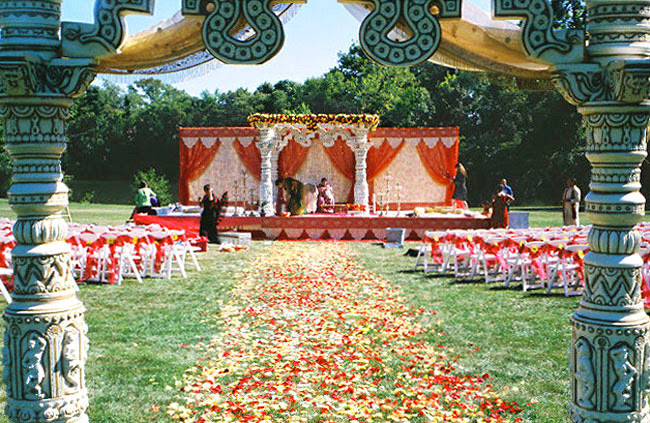 Outdoor Wedding Ceremony Thank you so much for the beautiful evening on