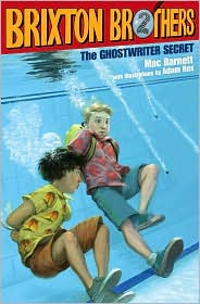 The Ghostwriter Secret (Brixton Brothers Series #2) by Mac Barnett: Book Cover