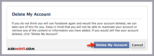 لینک حذف اکانت فیس بوک-1