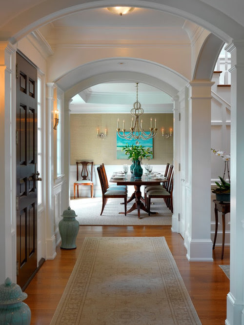 Pillar Arch Home Design Ideas Pictures Remodel and Decor
