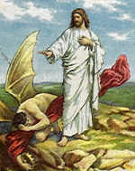 Temptation of Jesus Christ by Satan, Freemasonry, Freemasons, Freemason, Masonic, Symbols