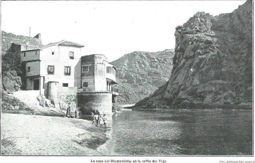 Casa del diamantista en 1914 fotografiada para La Esfera