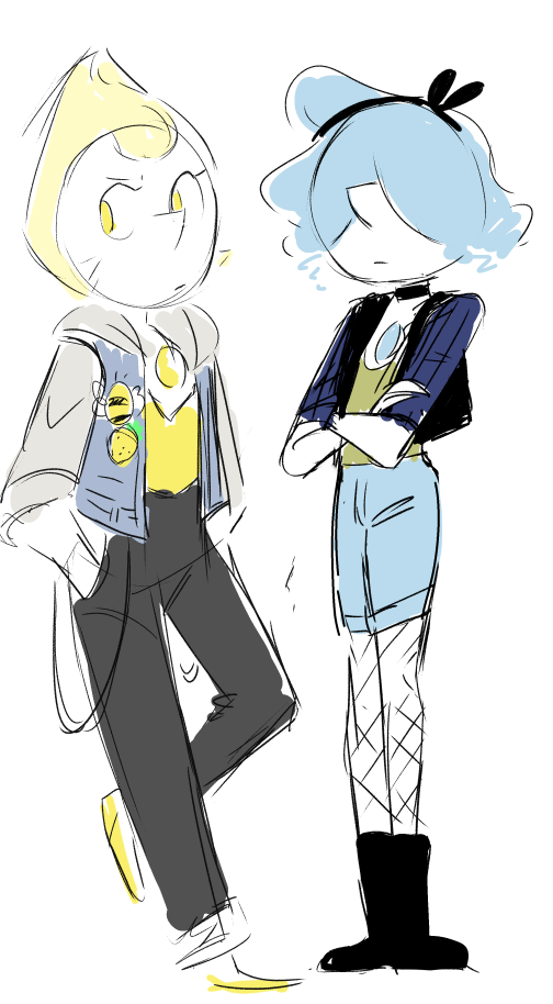 Can the crewniverse stop making Pearl so hot please my poor heart Bonus - Yellow Pearl wearing my jacket.