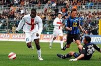 Balotelli in Atalanta-Inter