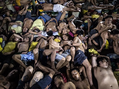 Image result for Congested jail in the Philippines