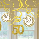 golden wedding anniversary pack   swirl