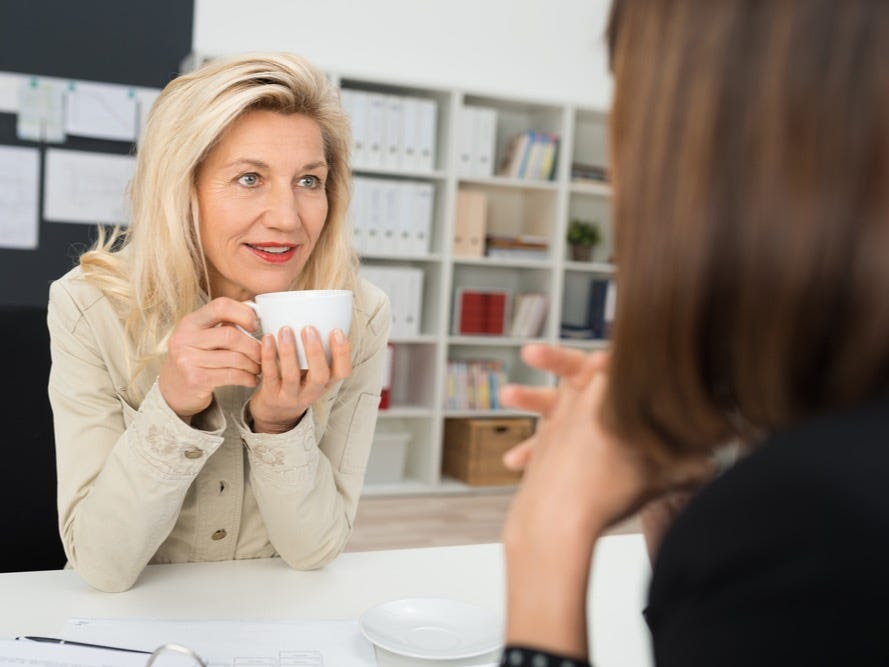 Make small talk with your CEO at the coffee maker