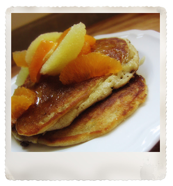 citrus pancakes