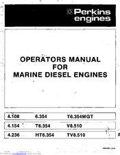 Perkins 6.354 Manuals