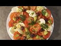 Recette Avocat Mozzarella