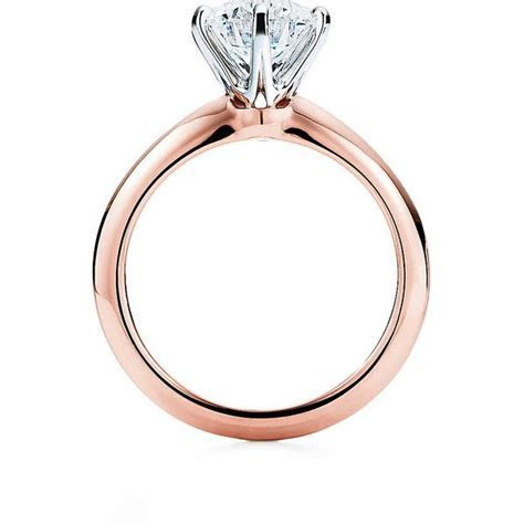 The Tiffany® Setting 18K Rose Gold Engagement Rings