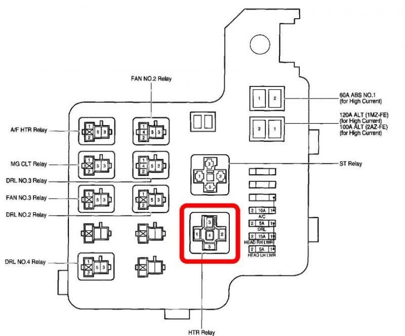2006 Toyotum Camry Wiring Diagram