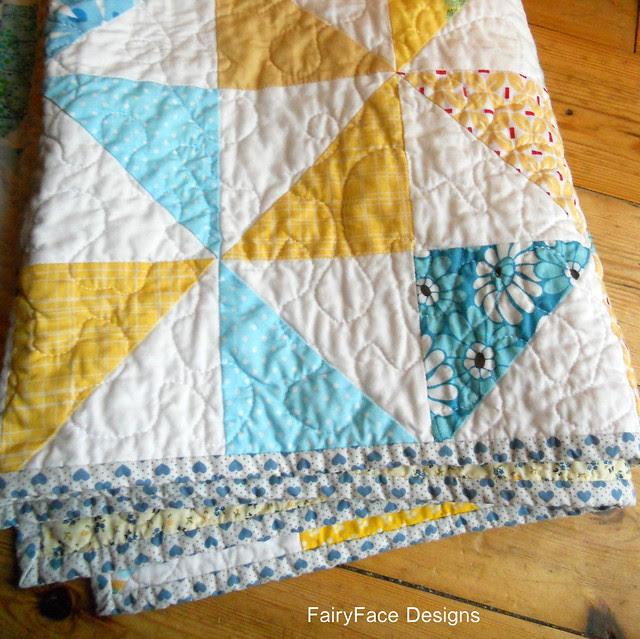 Fresh Pinwheels folded