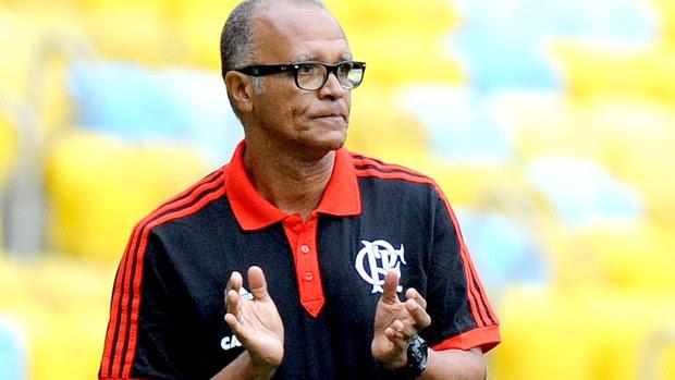 Jayme de Almeida jogo Flamengo e Cricúma (Foto: Alexandre Vidal / Fla Imagem)