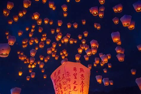 Marriage Sayings: Sky Lantern Wedding Wishes