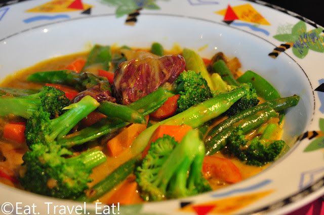 Sesame Grill: Vegetable Curry (Special Order)