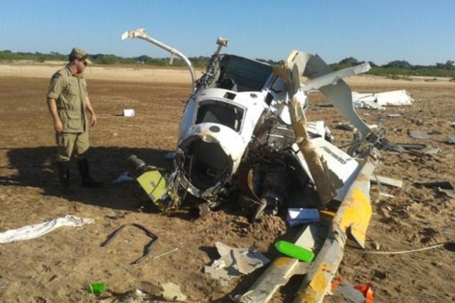 Falhas do piloto resultaram em acidente que matou Fernandão, aponta relatório Corpo de Bombeiros Militar do Estado de Goiás/Divulgação