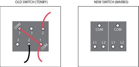 double light switch wiring diagram diynot forums