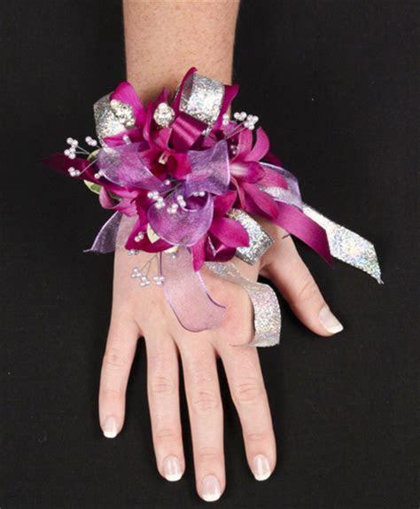 PURPLE PARADISE Prom Corsage     Flower Shop Network