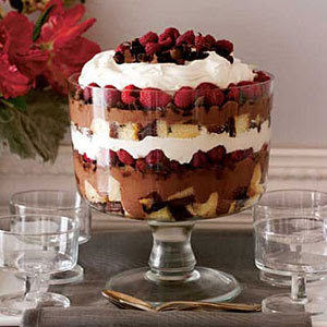 Easy Dessert Recipes - Chocolate-Raspberry Trifle Recipe ...