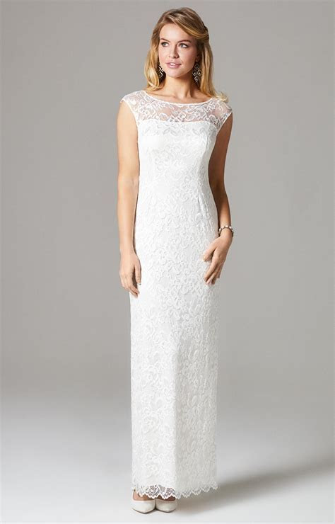 Amber Wedding Gown Long Ivory   Evening Dresses, Occasion