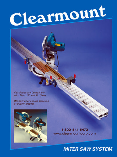 Clearmount Miter Saw Measuring Scales Systems