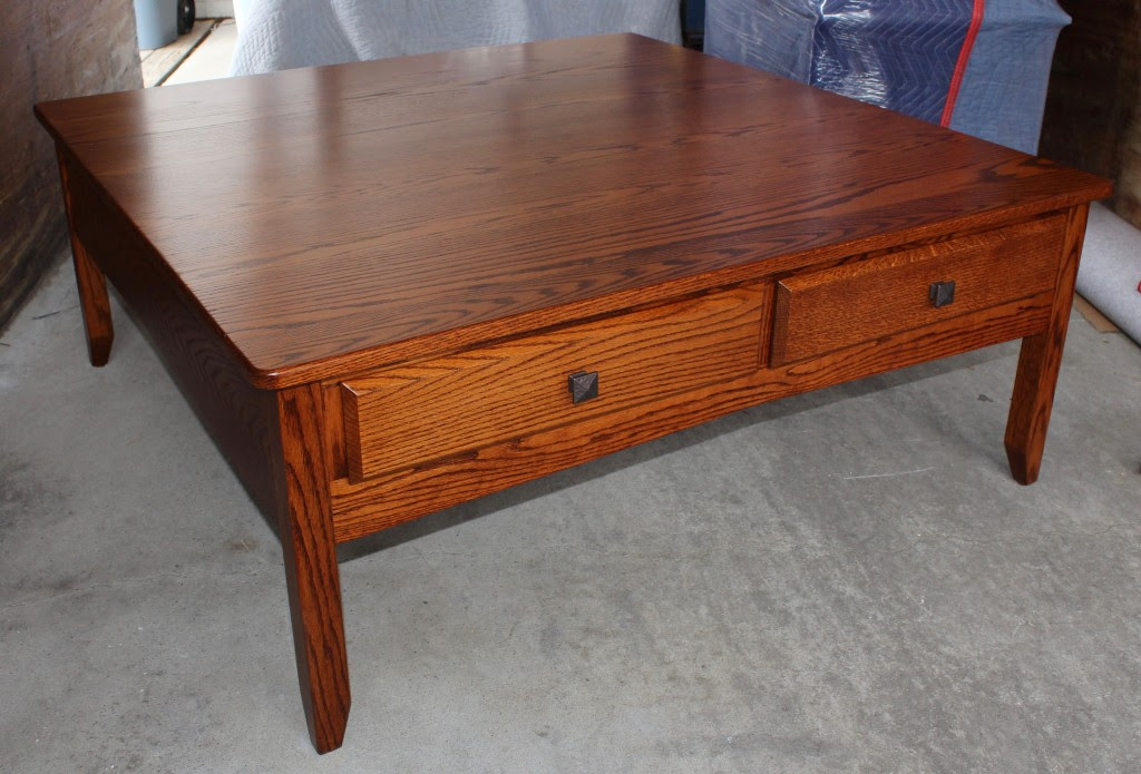 Danville 48″ Square Coffee Table | Amish Traditions WV
