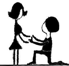 האם עדיין מקובל לכרוע ברך בעת הצעת הנישואין? - טבעות אירוסין