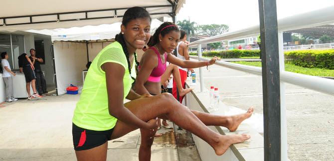Desde el mundial de atletismo de Cali, menores correrán tras su futuro