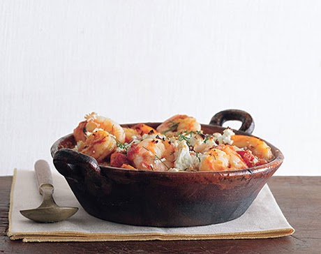 Café Sid: Greek-Spiced Baked Shrimp