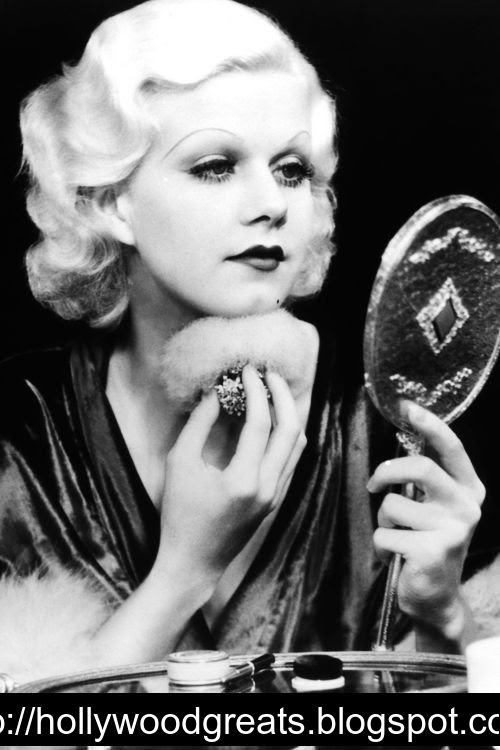 Please put me in a time machine and send me back to Jean Harlow.