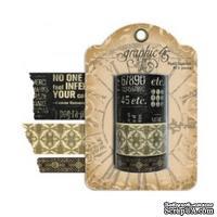 Бумажный скотч Graphic 45 - Staples - Washi Tape Set, 3 шт - ScrapUA.com